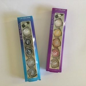 L.A. Colors Eye-Mazing 5 Eyeshadows and Applicator
